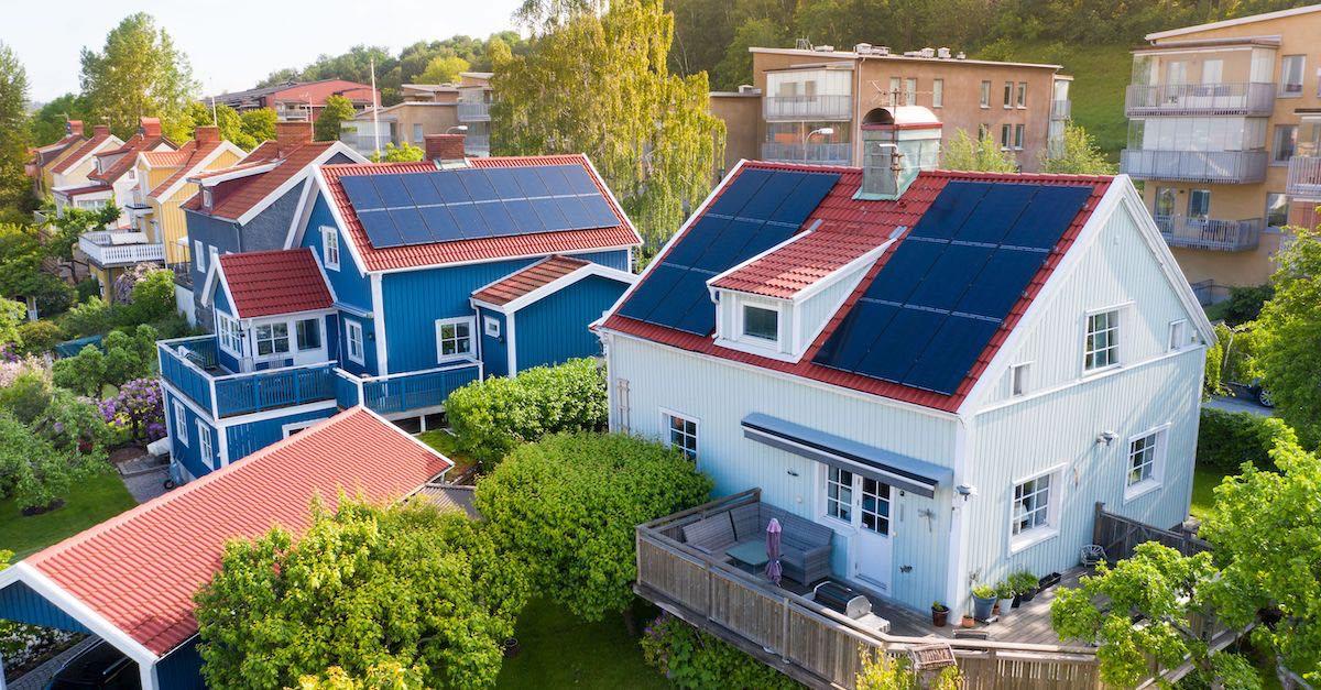 billige solceller med Otovo